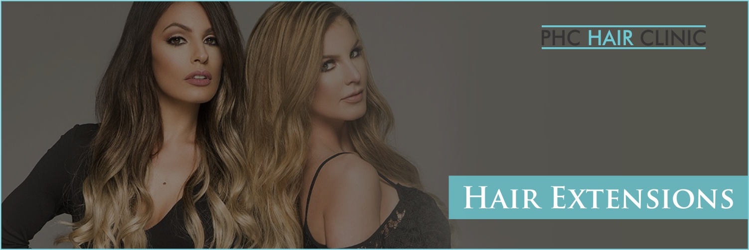 Hair Extensions in Delhi - PHC Hair Clinic